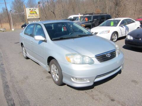 2007 Toyota Corolla for sale at K & R Auto Sales,Inc in Quakertown PA