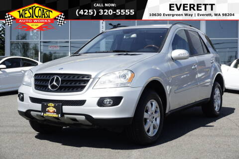 2006 Mercedes-Benz M-Class for sale at West Coast Auto Works in Edmonds WA