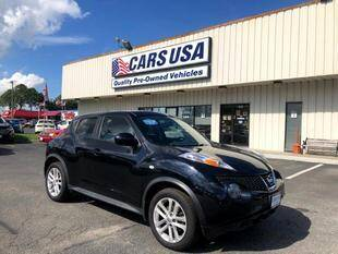 2013 Nissan JUKE for sale at Cars USA in Virginia Beach VA