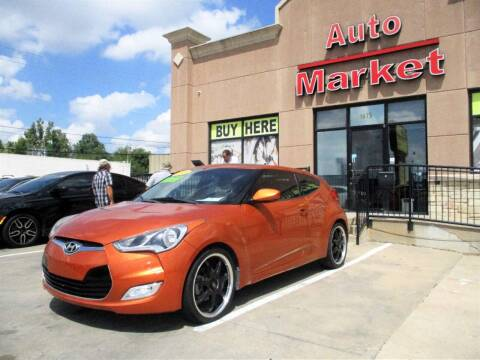 2013 Hyundai Veloster for sale at Auto Market in Oklahoma City OK