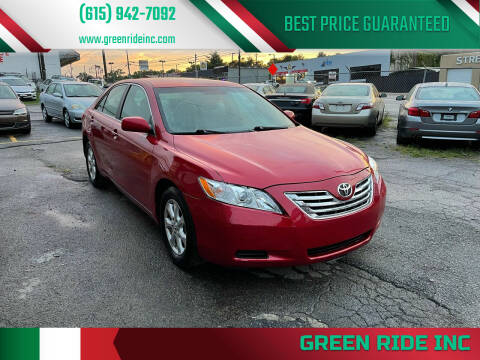2009 Toyota Camry for sale at Green Ride Inc in Nashville TN