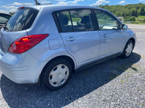 2009 Nissan Versa for sale at CESSNA MOTORS INC in Bedford PA