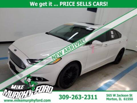 2016 Ford Fusion for sale at Mike Murphy Ford in Morton IL