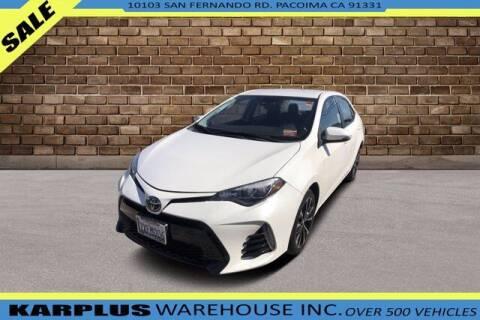 2017 Toyota Corolla for sale at Karplus Warehouse in Pacoima CA