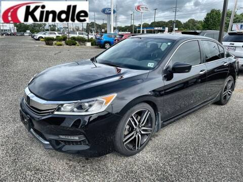 2017 Honda Accord for sale at Kindle Auto Plaza in Cape May Court House NJ