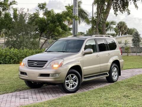 2004 Lexus GX 470 for sale at Citywide Auto Group LLC in Pompano Beach FL