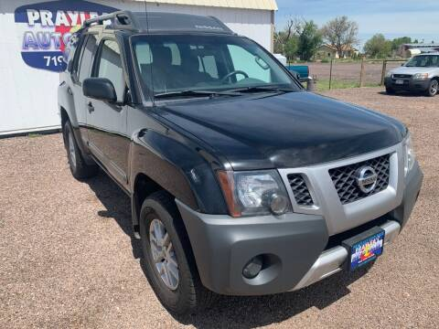 2014 Nissan Xterra for sale at Praylea's Auto Sales in Peyton CO