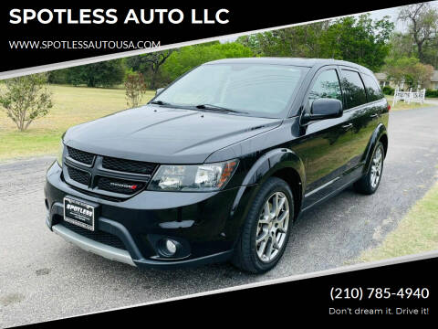 2016 Dodge Journey for sale at SPOTLESS AUTO LLC in San Antonio TX