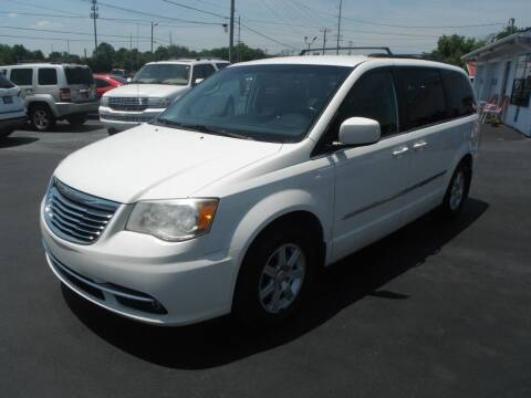 2011 Chrysler Town and Country for sale at Morelock Motors INC in Maryville TN