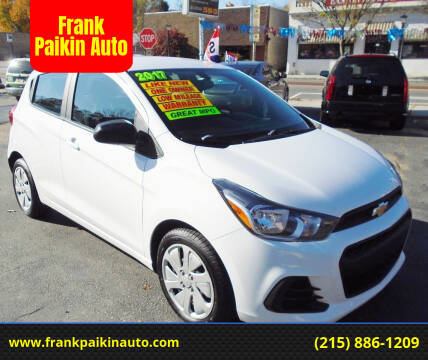 2017 Chevrolet Spark for sale at Frank Paikin Auto in Glenside PA