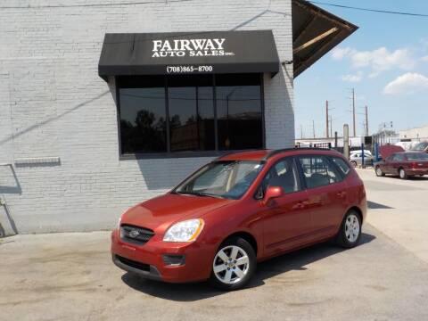 2008 Kia Rondo for sale at FAIRWAY AUTO SALES, INC. in Melrose Park IL