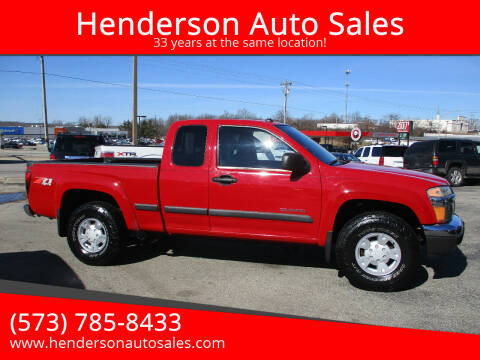2004 Chevrolet Colorado for sale at Henderson Auto Sales in Poplar Bluff MO