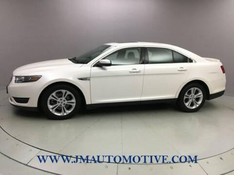 2018 Ford Taurus for sale at J & M Automotive in Naugatuck CT