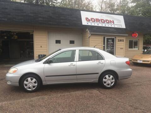 2008 Toyota Corolla for sale at Gordon Auto Sales LLC in Sioux City IA