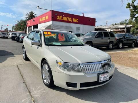 2006 Lincoln Zephyr for sale at 3K Auto in Escondido CA