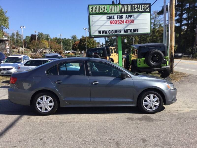 2014 Volkswagen Jetta for sale at Giguere Auto Wholesalers in Tilton NH