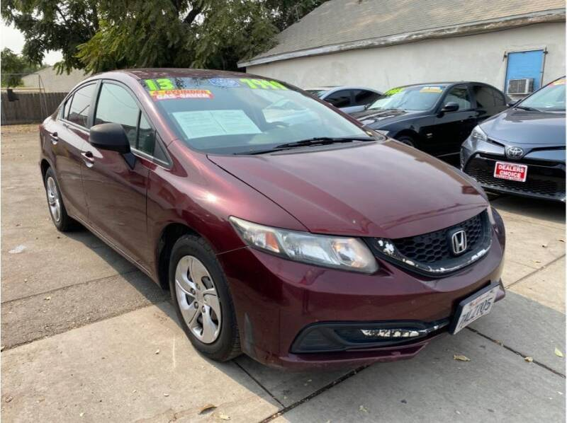 2013 Honda Civic for sale at Dealers Choice Inc in Farmersville CA