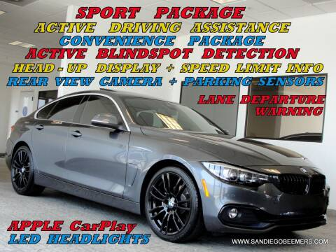 2020 BMW 4 Series for sale at SAN DIEGO BEEMERS in San Diego CA