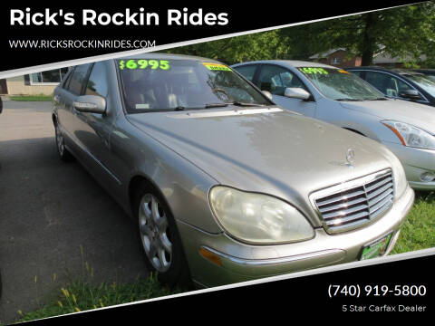 2006 Mercedes-Benz S-Class for sale at Rick's Rockin Rides in Reynoldsburg OH