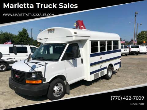 2006 GMC Savana Cutaway for sale at Marietta Truck Sales in Marietta GA