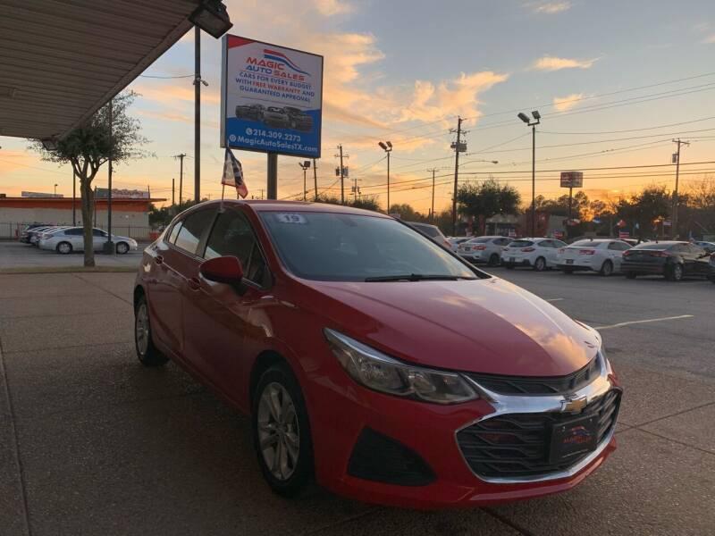 2019 Chevrolet Cruze for sale at Magic Auto Sales in Dallas TX