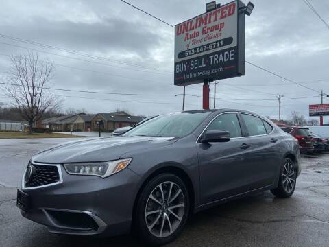 2018 Acura TLX for sale at Unlimited Auto Group in West Chester OH