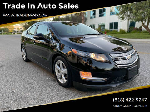 2015 Chevrolet Volt for sale at Trade In Auto Sales in Van Nuys CA