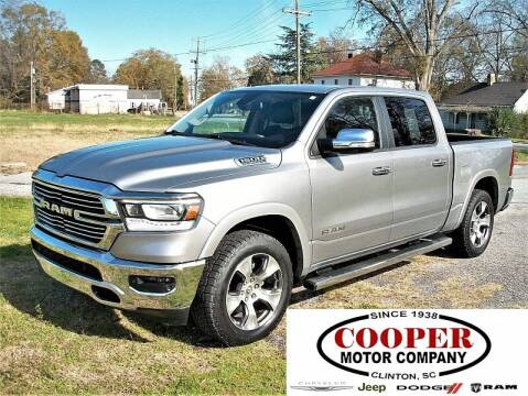 2019 RAM Ram Pickup 1500 for sale at Cooper Motor Company in Clinton SC
