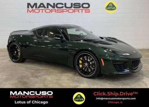 2021 Lotus Evora for sale at Mancuso Motorsports in Glenview IL