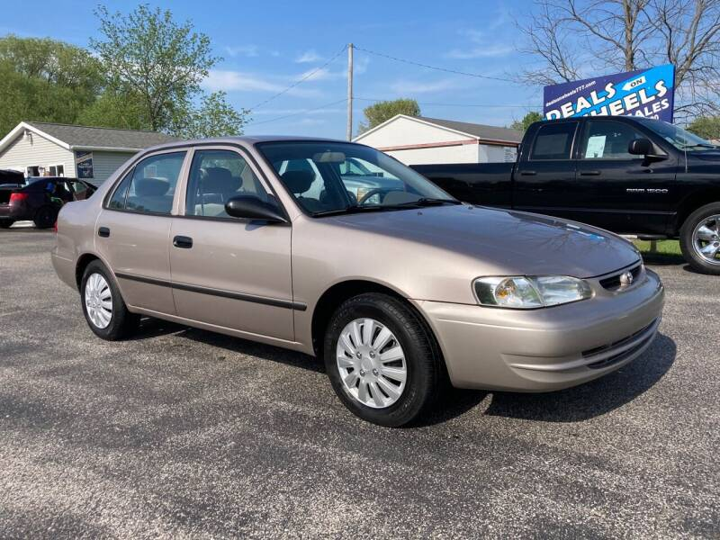 2000 Toyota Corolla for sale at Deals on Wheels Auto Sales in Scottville MI