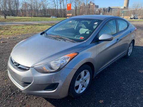 2011 Hyundai Elantra for sale at Trocci's Auto Sales in West Pittsburg PA