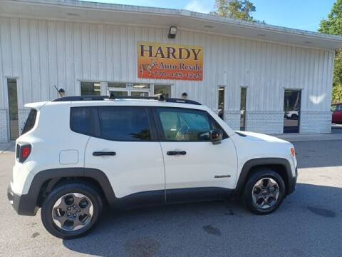 2017 Jeep Renegade for sale at Hardy Auto Resales in Dallas GA