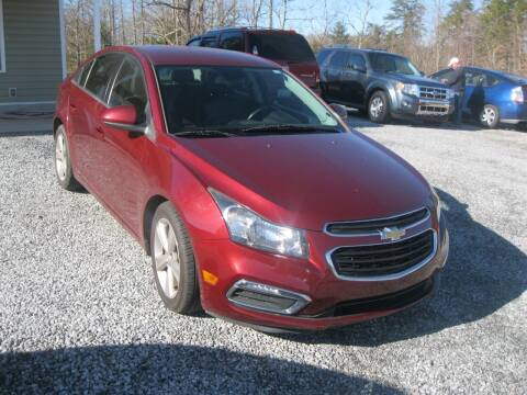 2015 Chevrolet Cruze for sale at Judy's Cars in Lenoir NC