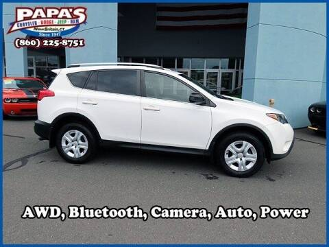 2014 Toyota RAV4 for sale at Papas Chrysler Dodge Jeep Ram in New Britain CT