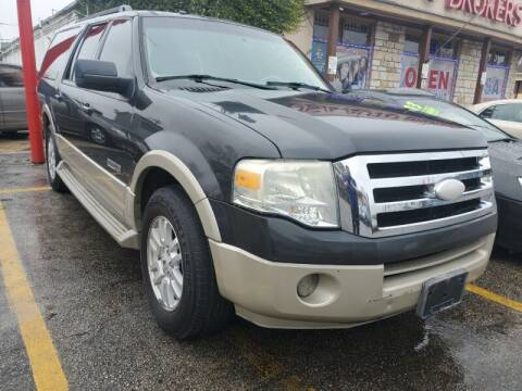 2007 Ford Expedition EL for sale at USA Auto Brokers in Houston TX