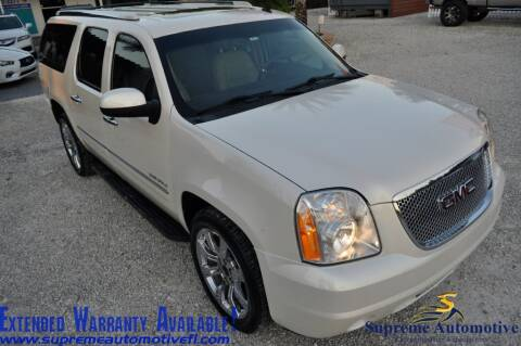 2013 GMC Yukon XL for sale at Supreme Automotive in Land O Lakes FL