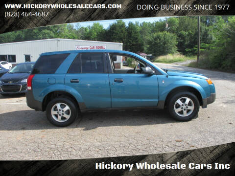 2005 Saturn Vue for sale at Hickory Wholesale Cars Inc in Newton NC