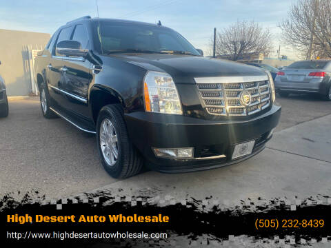 2013 Cadillac Escalade EXT for sale at High Desert Auto Wholesale in Albuquerque NM