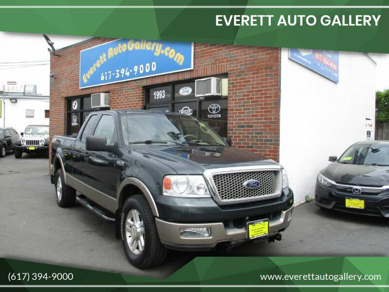 2004 Ford F-150 for sale at Everett Auto Gallery in Everett MA