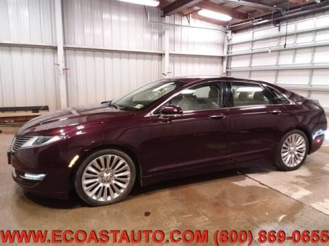 2013 Lincoln MKZ for sale at East Coast Auto Source Inc. in Bedford VA