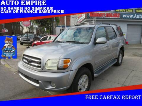 2002 Toyota Sequoia for sale at Auto Empire in Brooklyn NY