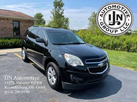 2013 Chevrolet Equinox for sale at IJN Automotive Group LLC in Reynoldsburg OH