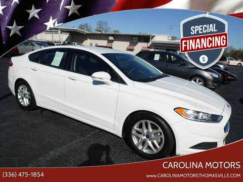 2016 Ford Fusion for sale at CAROLINA MOTORS in Thomasville NC
