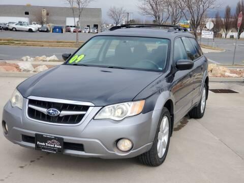 2009 Subaru Outback for sale at FRESH TREAD AUTO LLC in Springville UT