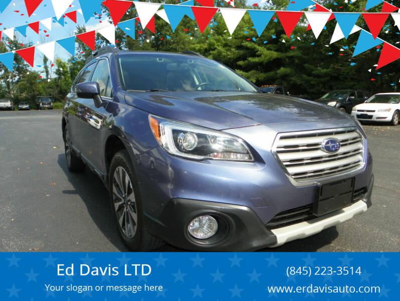 2015 Subaru Outback for sale at Ed Davis LTD in Poughquag NY