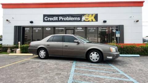 2003 Cadillac DeVille for sale at Car Depot in Miramar FL