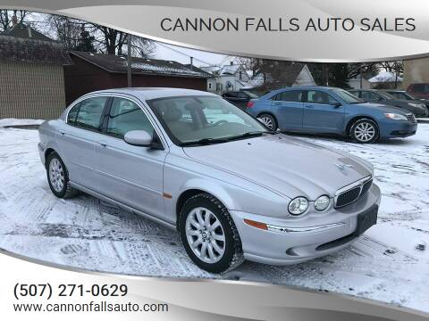 2003 Jaguar X-Type for sale at Cannon Falls Auto Sales in Cannon Falls MN