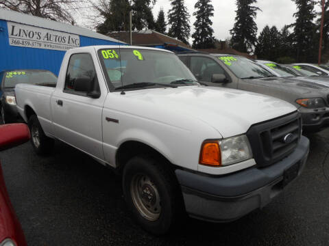 2005 Ford Ranger for sale at Lino's Autos Inc in Vancouver WA