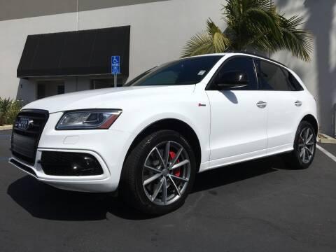 2017 Audi SQ5 for sale at MANGIONE MOTORS ORANGE COUNTY in Costa Mesa CA