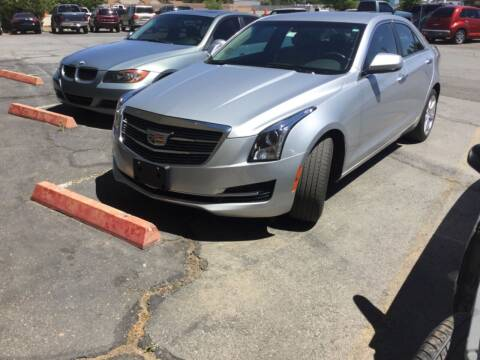 2016 Cadillac ATS for sale at Small Car Motors in Carson City NV